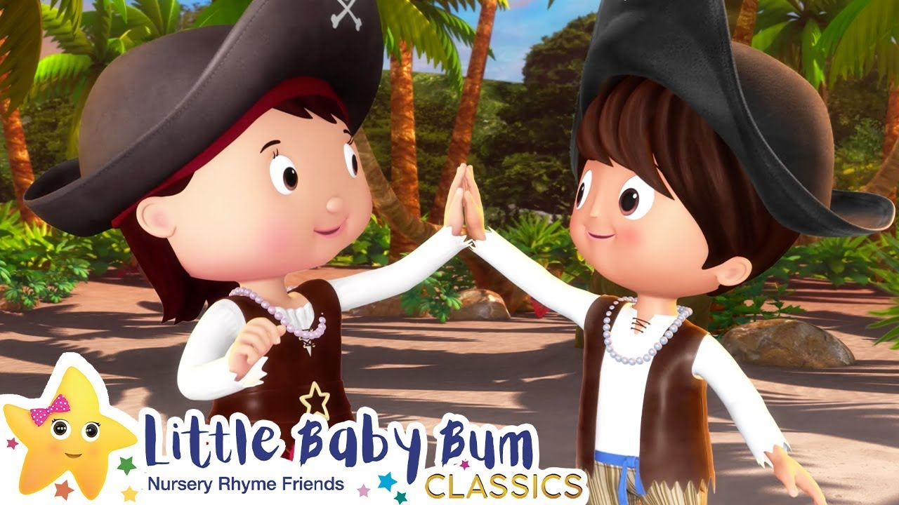 Halloween Pirates Song | Nursery Rhymes & Kids Songs - ABCs and 123s | Little Baby Bum