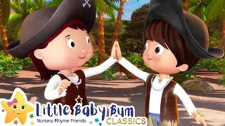 Halloween Pirates Song | Nursery Rhymes & Kids Songs - ABCs and 123s | Learn with Little Baby Bum