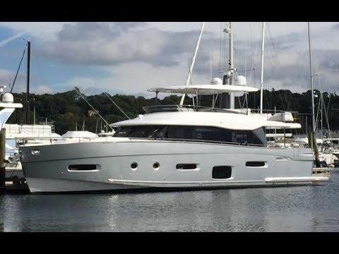 2019 Azimut Magellano 66 Yacht For Sale at MarineMax Huntington, NY