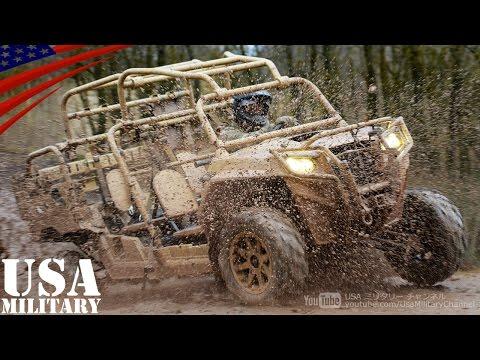 特殊部隊用ATV(全地形対応車) MRZR4 & MV850 - Special Forces All Terrain Vehicle (ATV) MRZR 4 & MV 850