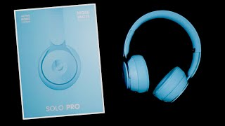 Beats Solo Pro Unboxing | ASMR Unboxing