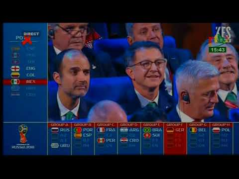 Sport  Final Draw for the Fifa World Cup Russia 2018 HD