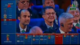 rtb / tirage au sort du mondial RUSSIE 2018