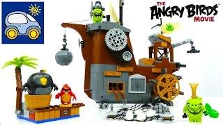 Лего Энгри Бёрдс 75825. Пиратский корабль свинок — как Илья и Картонка играли в Lego Angry Birds