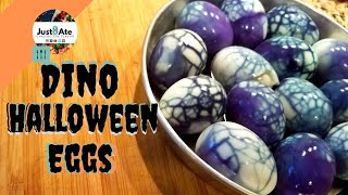 Halloween-Spooky-Eggs |Recipe| Just8Ate