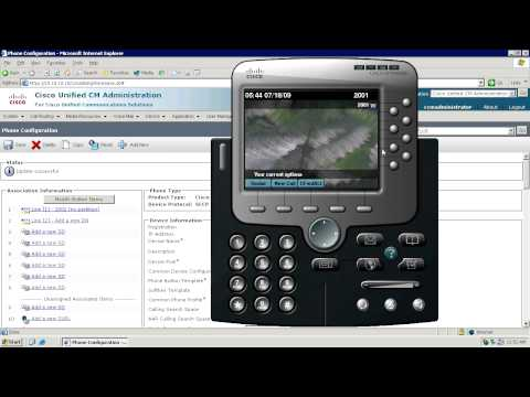 Part 1 - LDAP Based Corporate Directory via Cisco IP Phone