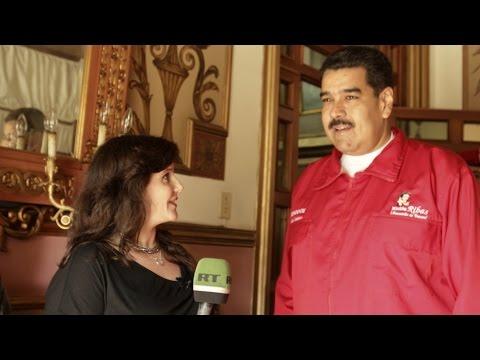 Один день с президентом Николасом Мадуро