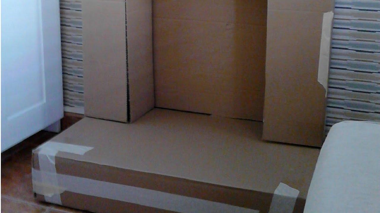 Como hacer chimenea de carton youtube - Dekokamin ikea ...