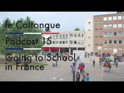 Going to School in France - Intermediate French