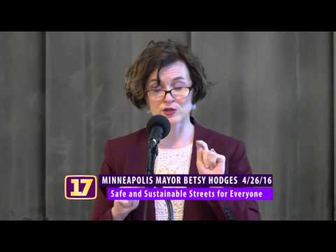 Mayor Betsy Hodges Shares Opportunities & Challenges for Minneapolis