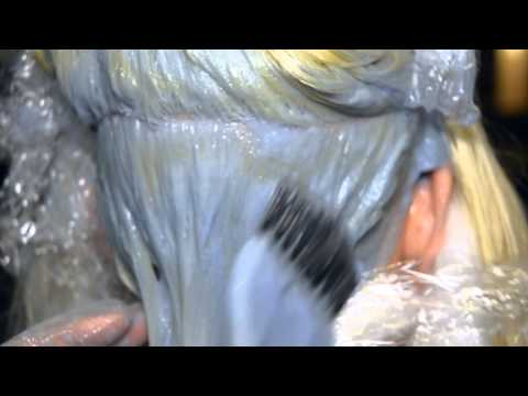 Extreme Hair Makeover from Long Brown Hair to Short Platinum by Jerome Lordet NYC  &  AJ Lordet