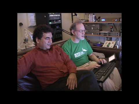 BOB KATZ mastering session with singer/composer JUAN CARLOS SALAZAR - Part 1