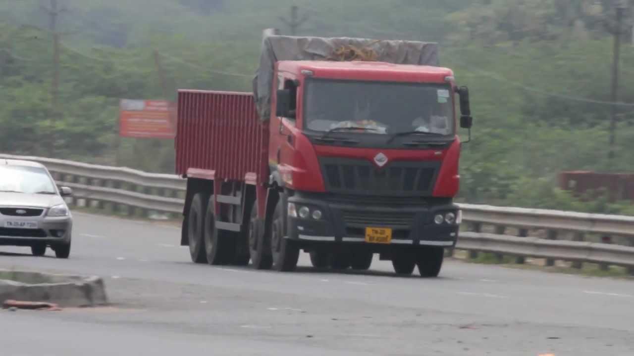 Mahindra Navistar Truck Chennai Bypass Road Youtube