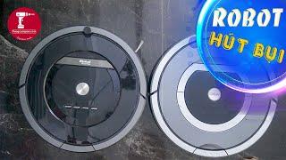 Máy hút bụi thông minh Mỹ xuất Nhật Irobot Roomba 780 và Irobot Roomba 880