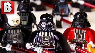 Every Lego Darth Vader Minifigure Ever!!! |  + Rare Chrome Darth Vader | Collection Review