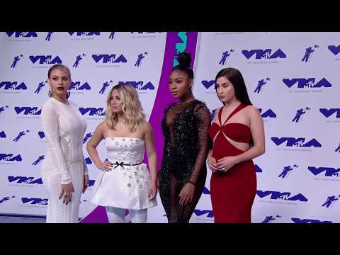 Fifth Harmony @ Blue Carpet MTV VMAs 2017