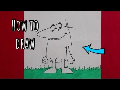 How To Draw Big Nose From Pink Panther #PinkPanther #Shoutout