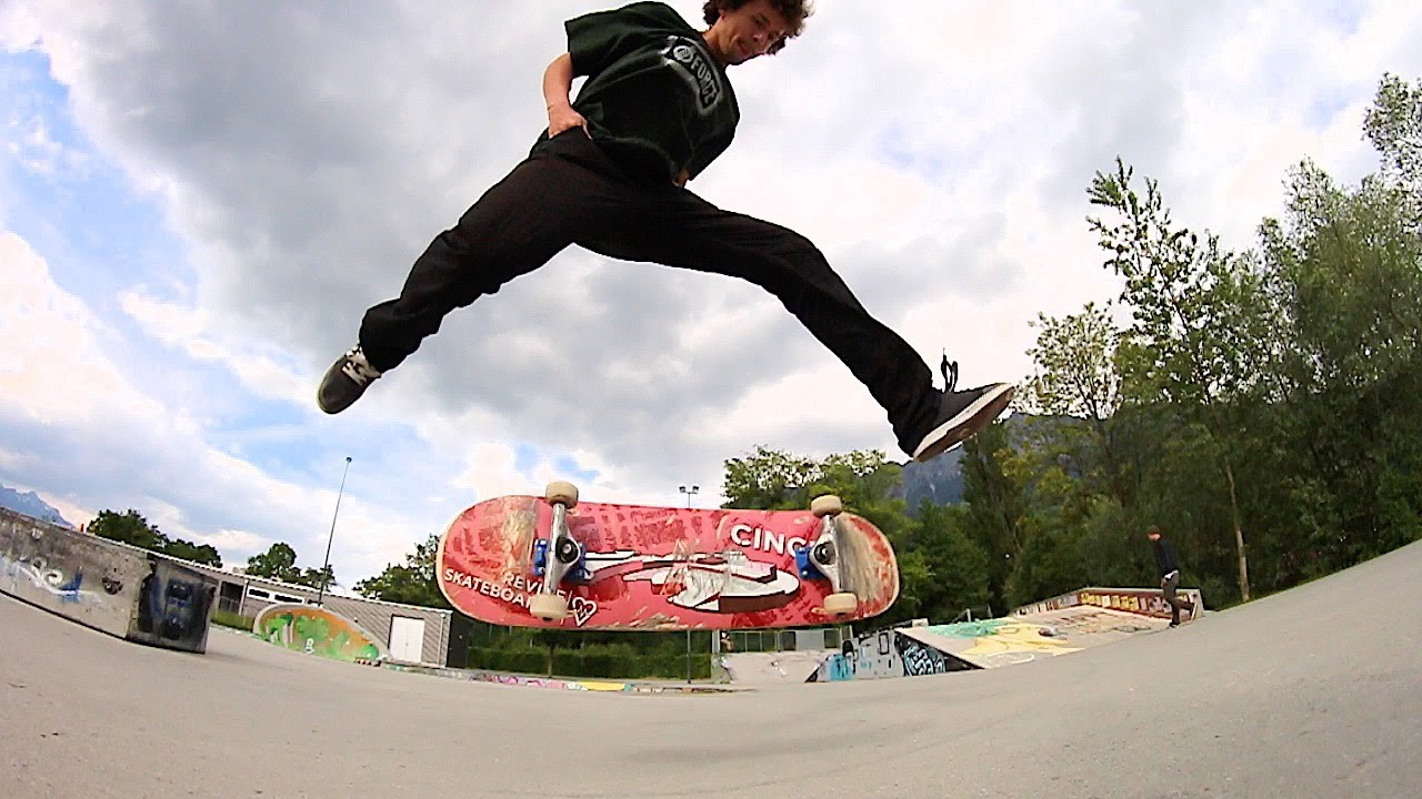 MOST CASUAL SKATEBOARD TRICKS! (HANDS IN POCKET) - YouTube