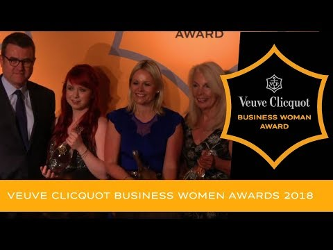 Veuve Clicquot Business Woman Awards ~ filmed at Claridge's London on 9 May 2018