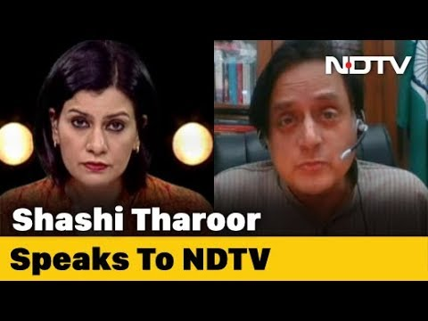 """Left, Right & Centre   Shashi Tharoor On Donald Trump's """"Open Threat"""" To India Over Drug Export"""