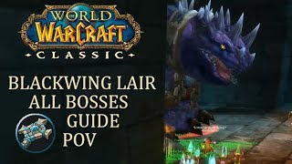 Blackwing Lair All Bosses (Priest Healer PoV) | WoW Classic Guide/Gameplay