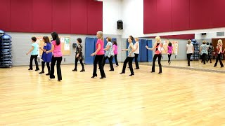 Must Be The Whiskey - Line Dance (Dance & Teach in English & 中文)