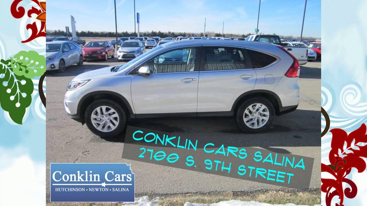 Conklin Cars Salina >> NEW 2015 Honda CR-V - Available Now - Conklin Cars Salina/McPherson/Manhattan - YouTube