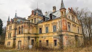 Abandoned Dreamlike Fairy Tale Castle Exploration - Urbex Lost Places Poland