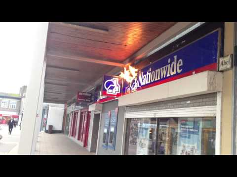 Nationwide Building Society is Burning