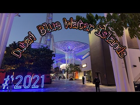 Dubai Blue Water Island 4k-Ain Dubai  2021