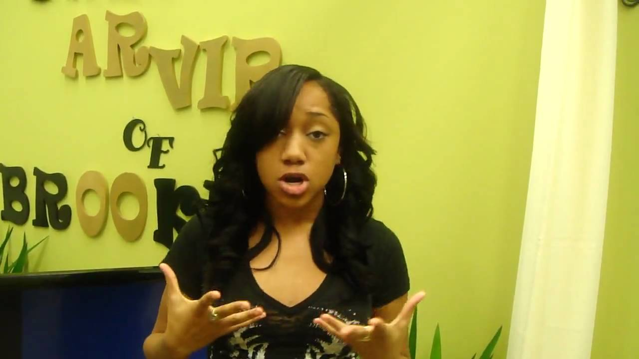 Full Weave Side Bangs And Curls Youtube