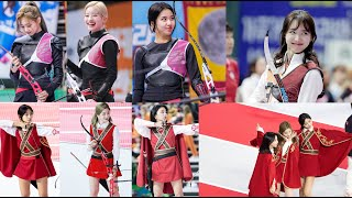 🎯💘 TWICE - Compilation Match on Archery Idol   ※ RED VELVET ※ GUGUDAN ※ LOVELYZ ※ CLC ※ OH MY GIRL ※