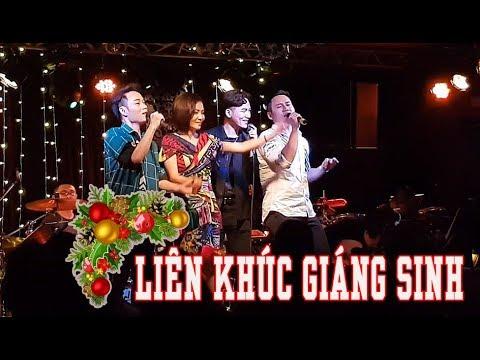 Thu Minh cùng Trúc Nhân và Ali Hoàng Dương hát Liên Khúc Giáng Sinh cực Sung