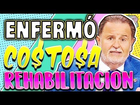 Raúl de Molina por enfermedad esta en rehabilitacion enterate de su costoso tratamiento