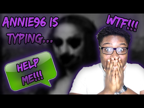 CREEPIEST Text Messages EVER! | Annie96 is typing...