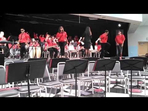VHES Jazz band playing Party Rock Anthem