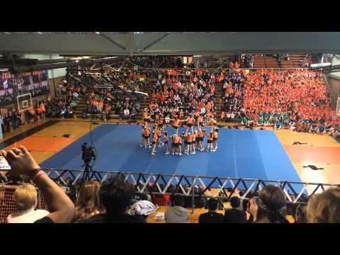 Pennsbury Falcons Cheerleaders - Sports Nite 2015