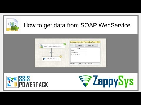 SSIS Tutorial - Get data from XML / SOAP Web Service in SSIS (Import into SQL Server)