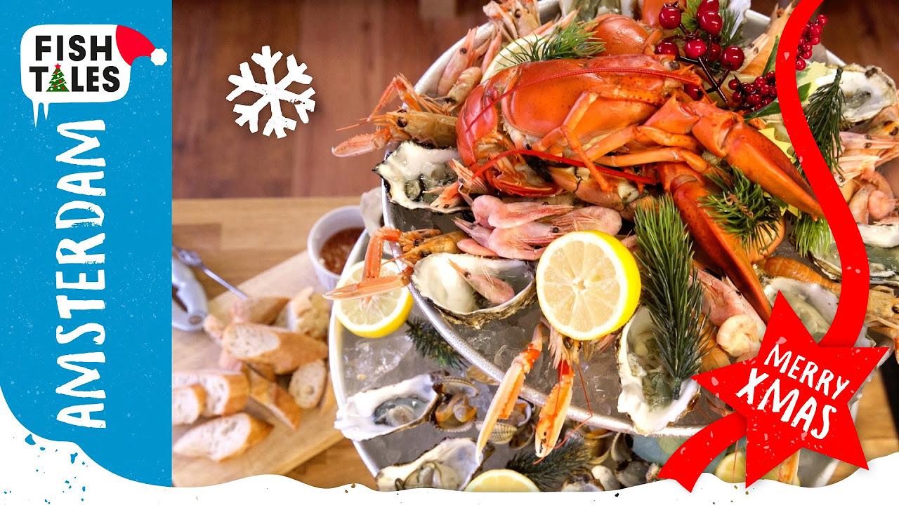 seafood platter plateau de fruits de