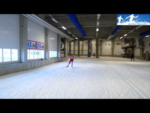 Cross-country skiiing: V2 skating technique