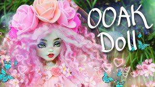 DIY Ooak Spring doll Monster High Doll Custom repaint