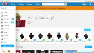 Roblox - How To Change Your Status/Feed