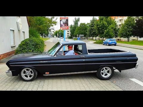 1965 Ford Ranchero 289 V8 Classic Car Falcon Pick Up Youtube