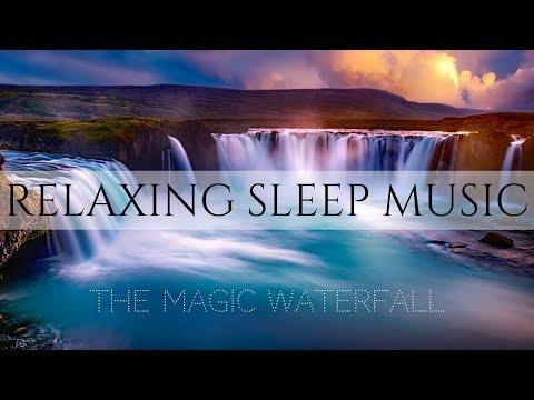 Relaxing Music for Kids to SLEEP | MAGIC WATERFALL | Meditation Music for Children