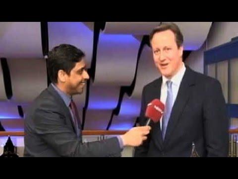 British PM David Cameron says 'phir ek baar Cameron sarkaar'