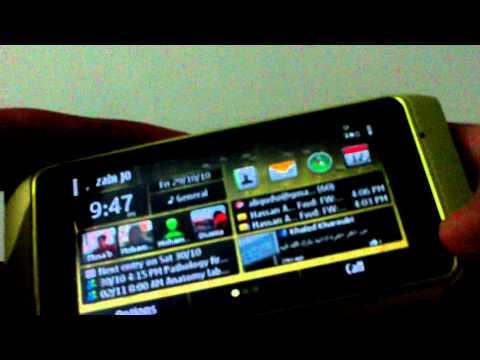 Nokia N8 Multitasking