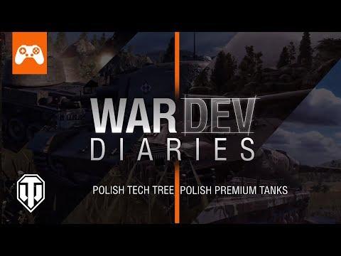 Дневники Разработчиков - Польская ветка!   World of Tanks Console thumbnail