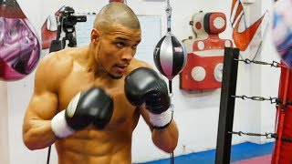 IN THE BAG! Eubank Jr looking READY FOR DeGALE | Media workout