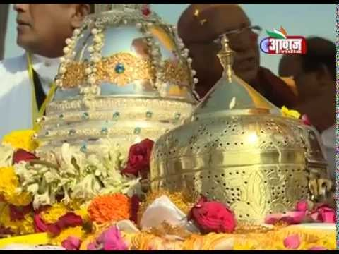 Buddha Relics From SriLanka to Nagpur