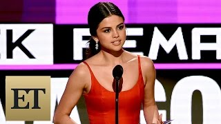 Selena Gomez Delivers Heartfelt Speech After AMA Win: 'You Do Not Have to Stay Broken'